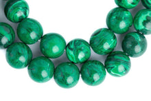 Load image into Gallery viewer, Genuine Malachite Mala Beads Necklace - prayer beads for meditation-OMSutra-Malachite Beads Mala-voicenatural