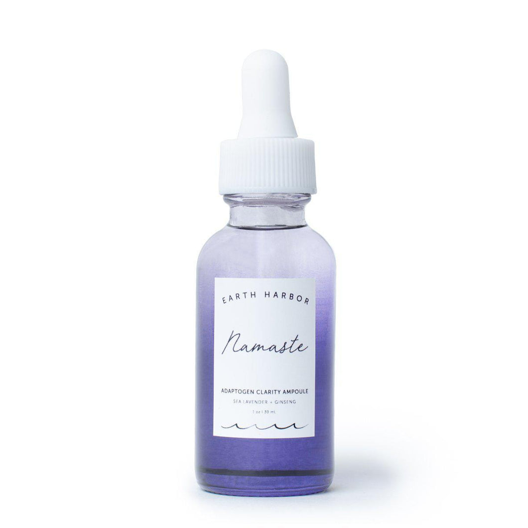 NAMASTE Adaptogen Clarity Ampoule-Earth Harbor Naturals-NAMASTE Adaptogen Clarity Ampoule-voicenatural