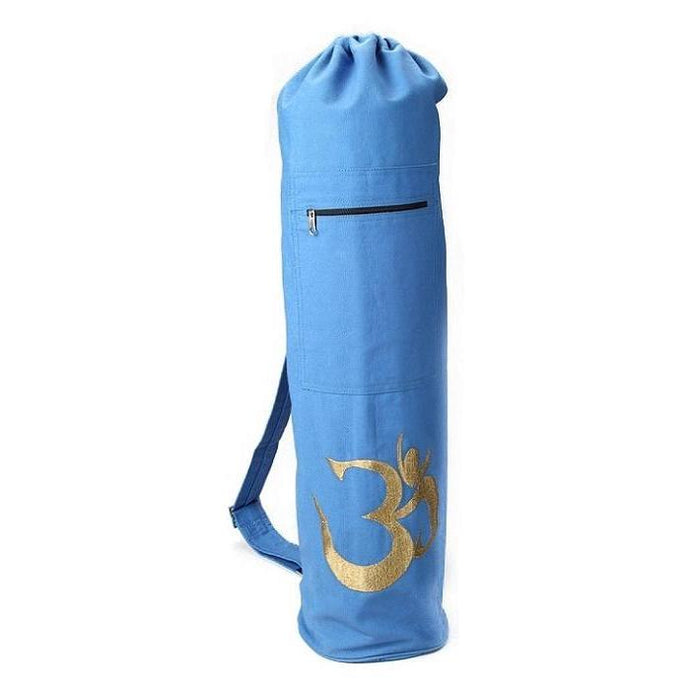 Yoga Bag - OMSutra OM Shiva Mat Bag -Drawstring-OMSutra-Yellow-voicenatural