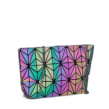 Load image into Gallery viewer, holographic handbag luminous strap shoulder