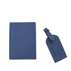 passport cover and luggage tag