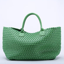 Load image into Gallery viewer, woven large tote bag