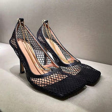 Load image into Gallery viewer, fashion mesh pumps