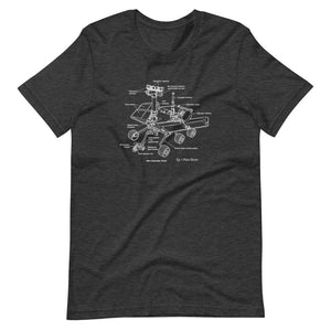 Mars Rover Diagram Tee