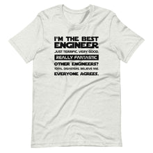 Load image into Gallery viewer, Best Engineer Trump Quote Tee