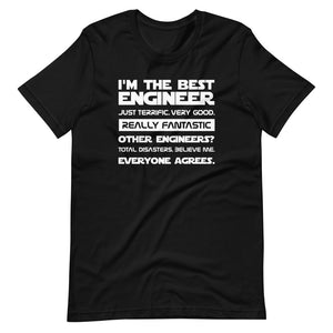 Best Engineer Trump Quote Tee