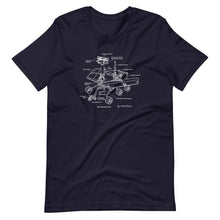 Load image into Gallery viewer, Mars Rover Diagram Tee