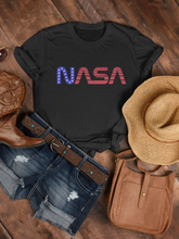 Load image into Gallery viewer, NASA Stars & Stripes Womens Tee