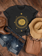 Load image into Gallery viewer, Sun Meets Moon Womens Tee