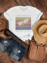 Load image into Gallery viewer, Crew Dragon Launch Womens Tee