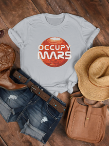 Occupy Mars Womens Tee