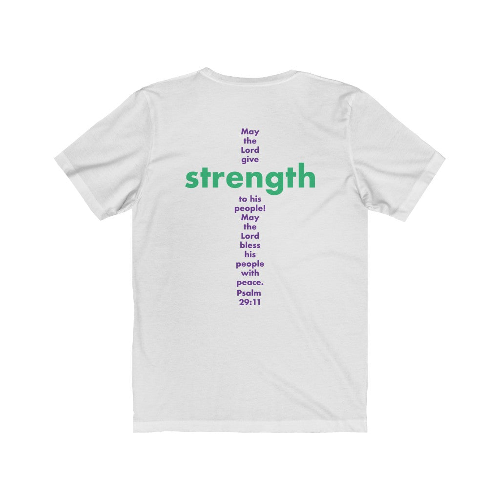 PSALM 29:11 Scripture Tee - ChristClout