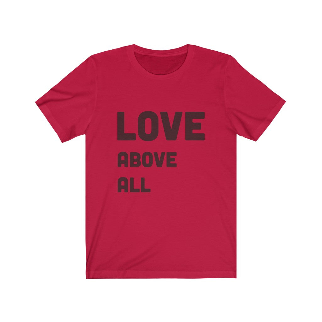Love Above All Graphic Tee - ChristClout