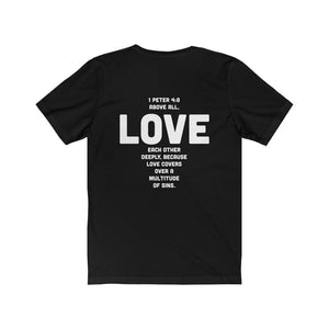 1 Peter 4:8 Scripture Tee - ChristClout