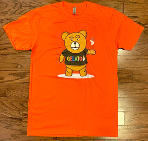 Orange Take A Gamble T-shirt