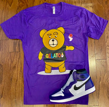 Load image into Gallery viewer, Purple Take A Gamble T-shirt