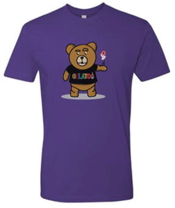 Purple Take A Gamble T-shirt
