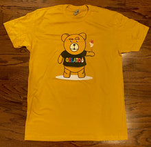 Load image into Gallery viewer, Gold/Mustard Take A Gamble T-shirt