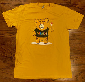 Gold/Mustard Take A Gamble T-shirt