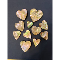 Abalone Pocket Hearts