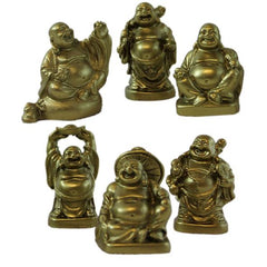 Smiling Buddha Figurines