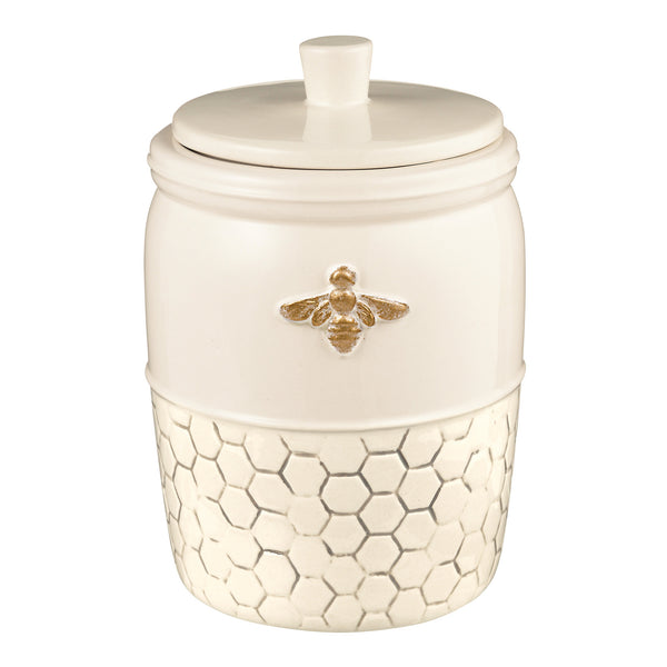 """Bee Lovely"" Canister"