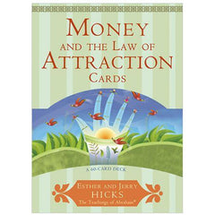 """Money, and the Law of Attraction"" Card Deck Esther and Jerry Hicks"