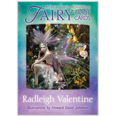 Fairy Tarot Cards A 78-Card Deck and Guidebook by Radleigh Valentine