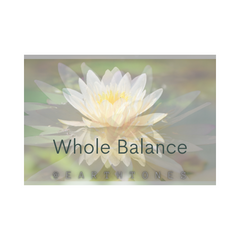 Gift Certificate - Whole Balance Therapies with Mary