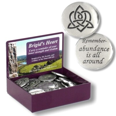 Brigid's Heart Charms