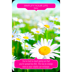 Flower Therapy Oracle Card Deck