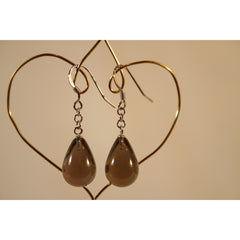 Energy Earrings: Smoky Quartz - multiple styles!