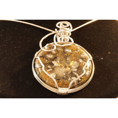 Orgonite Necklace Wire-Wrapped