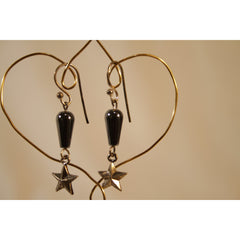 Energy Earrings: Hematite