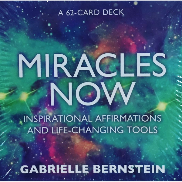 """Miracles Now"" Card Deck"