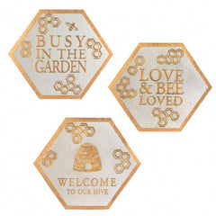 Garden Plaques and Stepping Stones