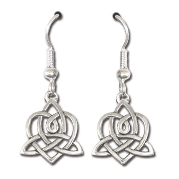 Brigid's Heart Earrings