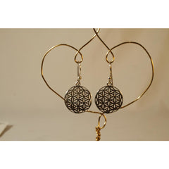 Energy Earrings: Flower of Life