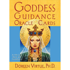 """Goddess Guidance Oracle Cards"" by Doreen Virtue"