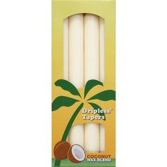 Coconut Wax Tapers