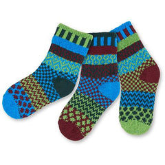 "Colorful ""Solmate Socks"" - Kids Sized -  'A Pair with a Spare'"