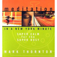 """Meditation in a New York Minute"" - AUDIO CD"