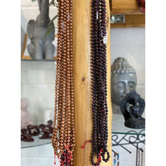 Sandalwood and Rosewood Malas