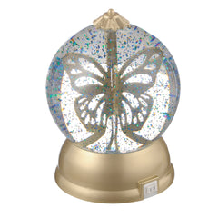 """Light Up Butterfly Snow Globe"""