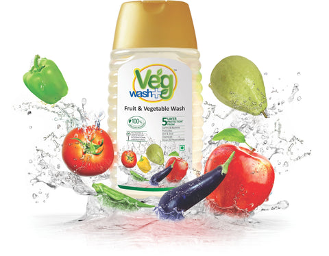 Veg Wash + (Fruit & Vegetable Wash) - 375ml