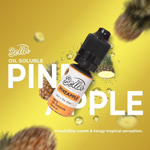 Bella Pineapple Oil Soluble Flavour