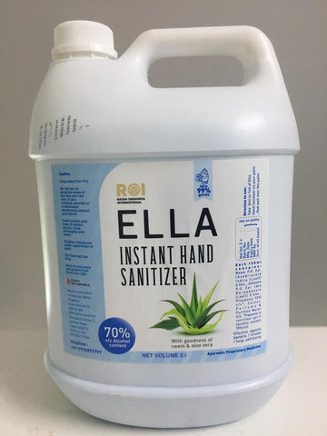 ELLA Hand Sanitizer Liquid form - 5L