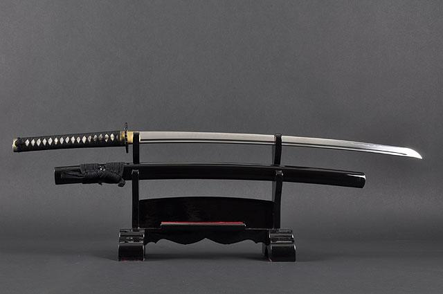 Fully Functional Samurai Katana Sword, Sharp 1095 Carbon Steel Blade, Hand Forged Clay Termpered, Full Tang, Crane Tsuba