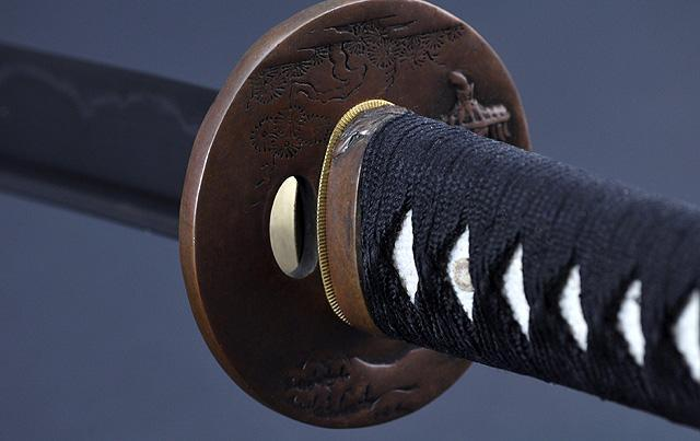 FULLY HAND FORGED CLAY TEMPERED FOLDED BLADE JAPANESE SAMURAI KATANA SWORD - buyblade