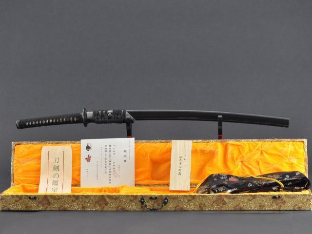 FULLY HAND FORGED CLAY TEMPER PRACTICAL SAKURA BLACK KATANA SWORD